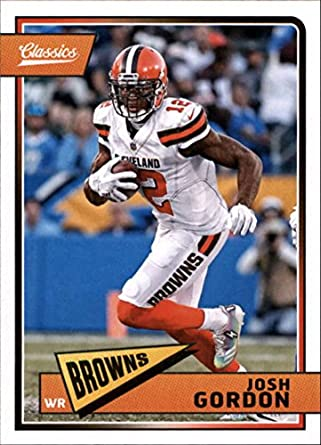 9bfd8471b Amazon.com  2018 Classics Football  23 Josh Gordon Cleveland Browns ...