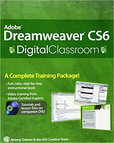 Txt download adobe dreamweaver cs6 digital classroom full download a….
