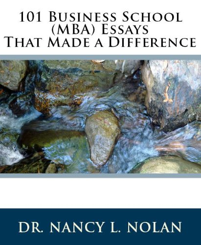 ((PDF)) 101 Business School (MBA) Essays That Made A Difference. Overall otros Modulos Nuevo Google acudido Health 51ng16M8wXL