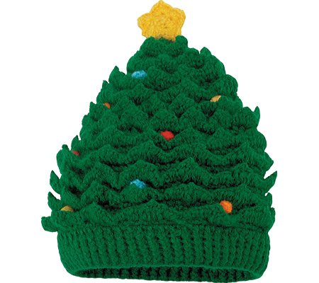 Kid's Christmas Tree Hat