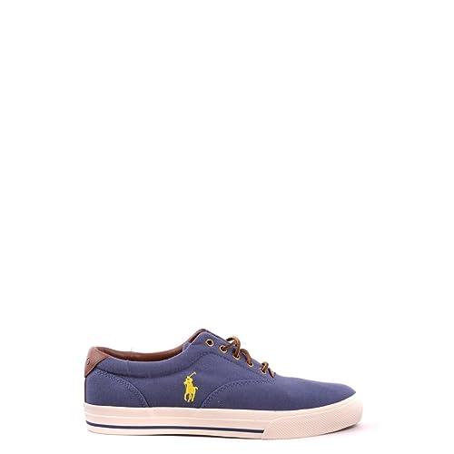 Scarpe Polo Ralph Lauren VAUGHN Sneakers Basse - Blu - Scarpe Uomo -  A85-Y0222 aff24db6f5d
