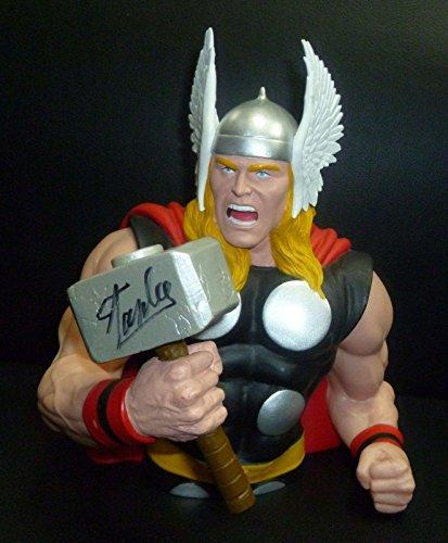 Stan Lee Signed Marvel THOR Action Figure Bank PSA/DNA COA Autograph A
