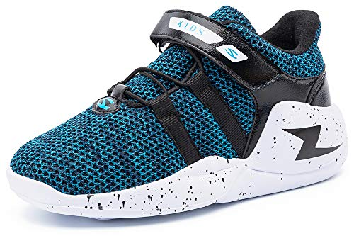 - ODOUK Kids Tennis Shoes Breathable Running Walking Shoes Fashion Sneakers for Boys and Girls Blue 1 Little Kid