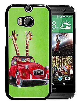 Amazon.com: Custom HTC _ One _ M8 funda, Alpaca Art plástico ...