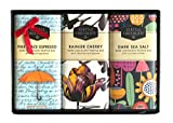 Seattle Chocolates, Assorted Dark Chocolate Truffle bars Gift Set, 7.5 Ounce (Set of 3)