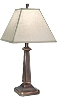 product image for Stiffel TL-N8166-OB One Light Table Lamp, Oxidized Bronze Finish with Cream Aberdeen Shade