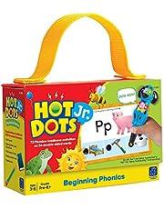 Educational Insights 2352 Hot Dots Jr. Beginning Phonics Card Set