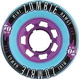 Hawgs Wheels Mini Zombie Teal Skateboard Wheels - 70mm 86a (Set of 4)