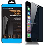 "MagicGuardz, Made for Apple 5.5"" iPhone 7 Plus, Privacy Anti-Spy Tempered Glass Screen Protector Shield, Retail Box"