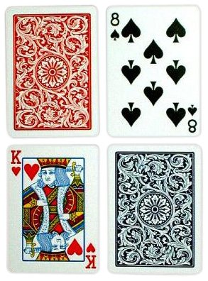 Copag Poker Size Regular Index 1546 Playing Cards by Copag