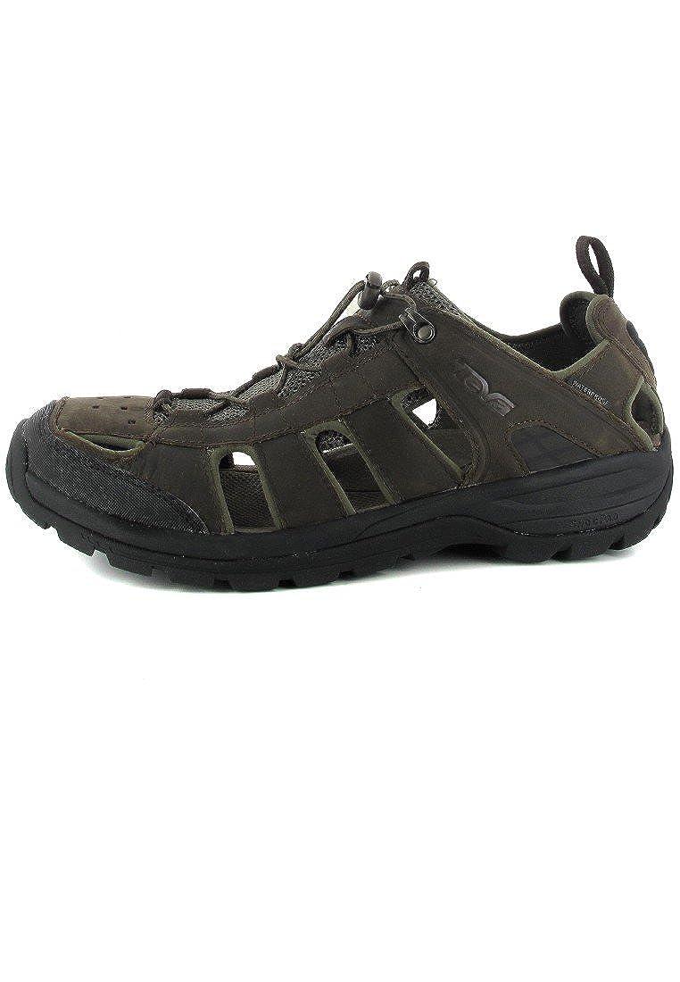 b75eb7aac766 Teva Men s M Kimtah Sandal Leather Track   Field Shoes  Amazon.co.uk  Shoes    Bags
