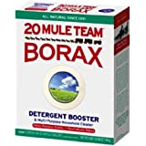 Detergent Booster & Multi Purpose Household Cleaner NEW, Natural Laundry Booster with Borax Full 4 Lb Box