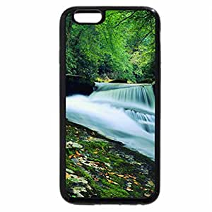 iPhone 6S Plus Case, iPhone 6 Plus Case, nice forest waterfall