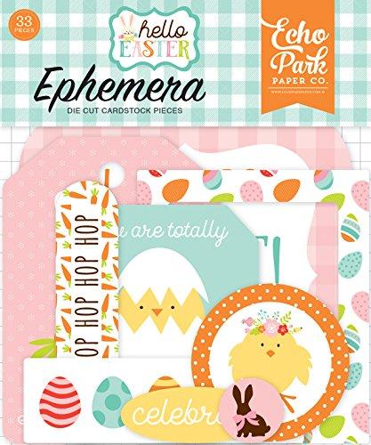 Echo Park Paper Company Hello Easter Ephemera ()