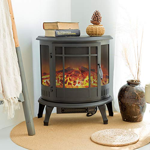 Best Compact Electric Fireplace Heater Best Products To Buy