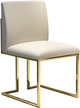 sillas de comedor con patas de acero inoxidable
