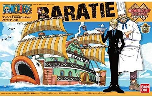 ONE PIECE Grand Ship Collection Baratie Plastic Model