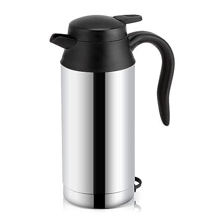 Tazza di riscaldamento elettrico in auto da viaggio thermos caff/è in acciaio inox bottiglia da 200 ml