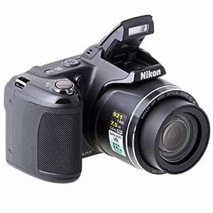 "Nikon Coolpix L810 - Cámara compacta de 16.1 Mp (pantalla de 3"", zoom óptico 26x, estabilizador de imagen óptico) color negro"