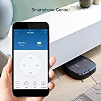 ECOVACS Slim Neo Robot Vacuum Cleaner with Compact Design, Sensor Navigation for Pet Hair, Fur, Allergens, Thin Carpet, Hardwood and Tile Floors by ECOVACS ROBOTICS