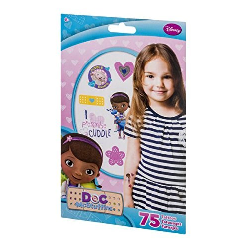 Disney Doc McStuffins Tattoos - 75 CT -