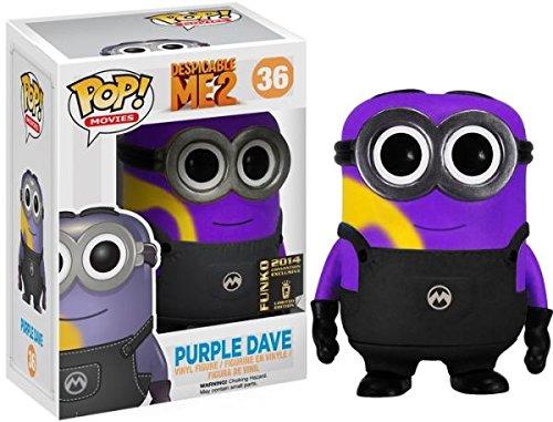 Funko Despicable Me 2 POP! 2014 SDCC Purple Dave Minion]()