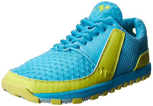 Tesh Sports Women's Twitch 1.0 Training Shoe,Scuba/Bolt/Tahiti Blue,7.5 M US