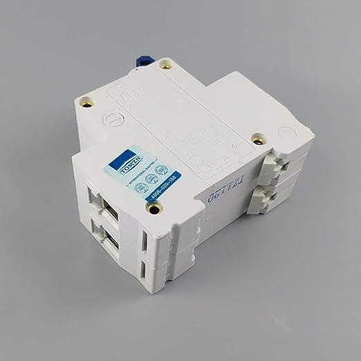 Disjoncteur 2p 80a Dc 600v Disjoncteur Pour Système Pv C Courbe Mcb
