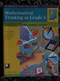 Mathematical Thinking at Grade 5, Marlene Kliman and Cornelia Tierney, 1572327960