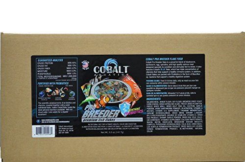 Cobalt Aquatics Pro Breeder Flake, 10 lb by Cobalt Aquatics