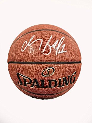 Chauncey Billups Signed Basketball - Spalding Indoor Outdoor - JSA Certified - Autographed Basketballs