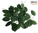 Fake Faux Artificial Green Wired Silk Floral Leaves - Best Reviews Guide