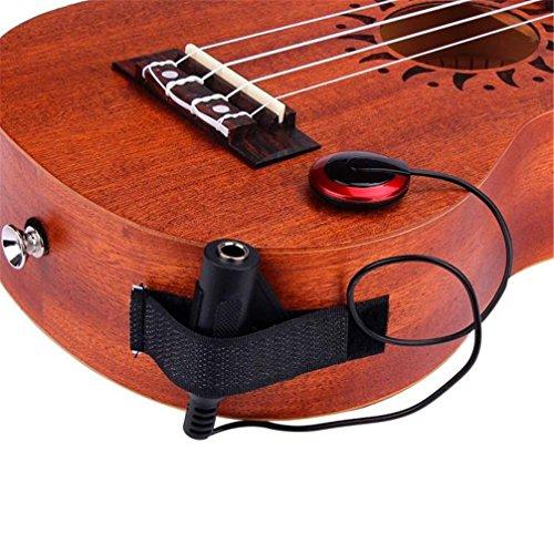 Pickup / Gotd Microphone Piezo Contact Pickup for Guitar Violin Banjo Mandolin Ukulele