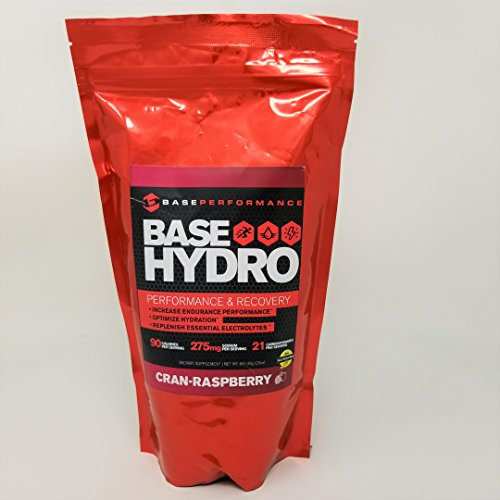 Cheap BASE Performance Hydro – Cran Rasberry | 28 servings within each eco-friendly mylar bag | Blend of dextrose, fructose, maltodextrin and essential electrolytes. (Cran Rasberry)