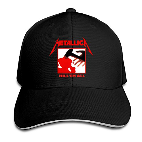 MASTER Metallica Heavy Metal Music Band Snapback Hats / Baseball Hats / Peaked - Metal Masters Cap