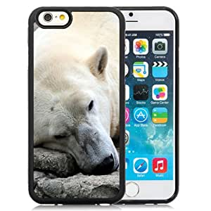 NEW DIY Unique Designed iPhone 6 4.7 Inch TPU Phone Case For Sleeping Polar Bear Phone Case Cover