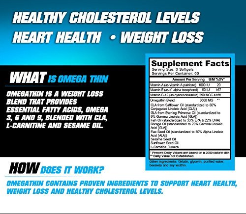 Free CLA 90ct Bottle. The Best Weight Loss Pills. Quick Weight Loss for Men and Women. Caffeine Free Fat Burner. Omegathin 180 Softgels ()