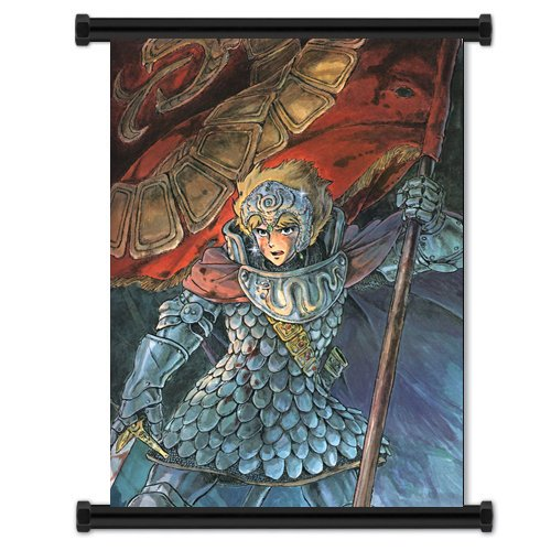 Nausicaa Valley of The Wind Anime Fabric Wall Scroll Poster (16