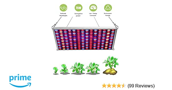 LED Grow Light for Indoor Plants,YGROW Upgraded 75W Growing Lamp Light  Bulbs with Exclusive Full Spectrum for Greenhouse Hydroponic Plants from