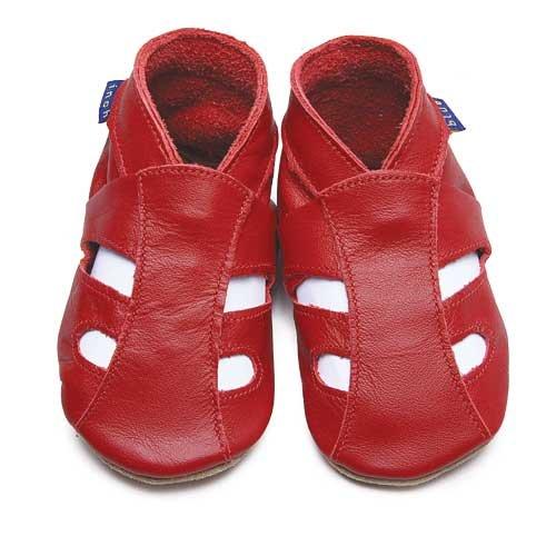 Inch Blue - Zapatos, color rojo [talla: 23]