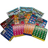 Regal Games Roadtrip Pack with Travel Bingo Monster Memory and Coloring Books