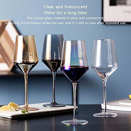 Copas de vino 4 Tinto De Vidrio Transparente Recipiente De Vino Y Juego De Vino Copa De Vino De 600 Ml, Recipiente De Vino De 1800 Ml, Embalaje De Caja De Regalo