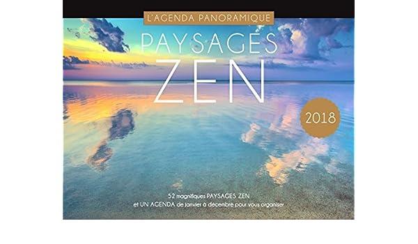 Agenda panorámica paisaje Zen 2018: Collectif: Amazon.es ...