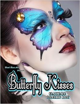 Amazon Butterfly Kisses Grayscale Coloring Book 9781546977308 Karlon Douglas Books