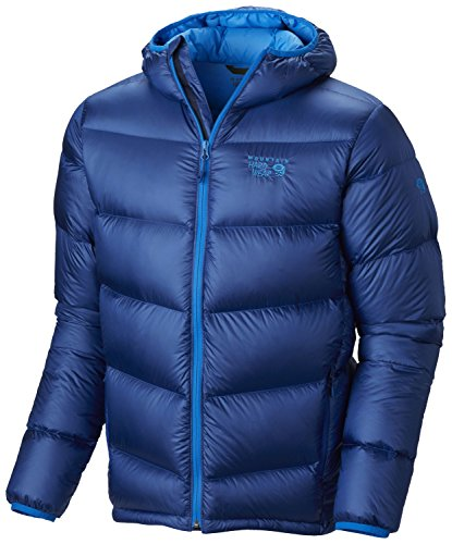 Mountain Hardwear Kelvinator Hooded Jacket - Men's Azul XL ()