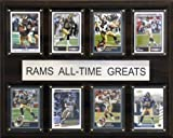 NFL St. Louis Rams All-Time Greats Plaque