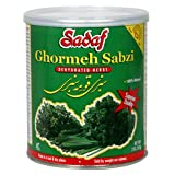 Sadaf Sabzi Ghormeh, Dehydrated Herbs, 2-Ounce Canister (Pack of 6)