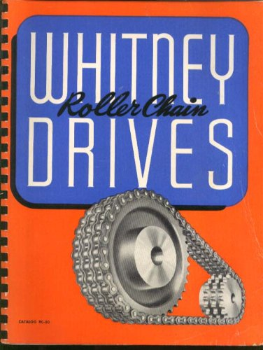 Whitney Roller Chain Drives Catalog RC-50 Hartford CT -