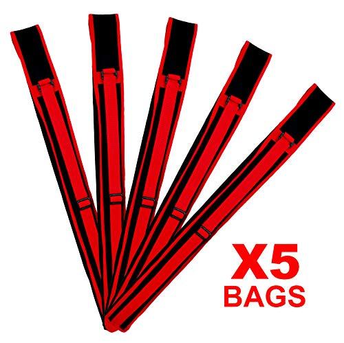 "PROWIN CORP X5 Escrima (Kali, Arnis) Stick Carrying Bag Canvas Case 28"" Long, Adjustable Shoulder Strap"