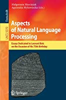 Aspects of Natural Language Processing Front Cover